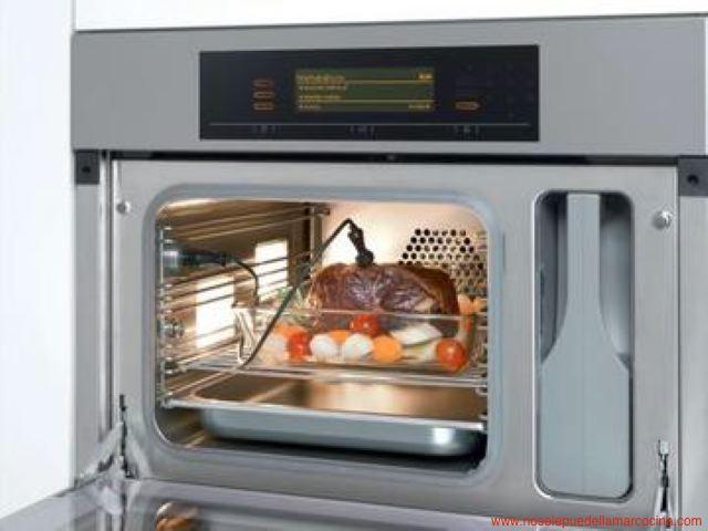 Horno vapor conselos marcas y modelos for Cocina induccion con horno