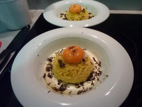 Hoy cenamos con sergi arola un plato que ensalza unos for Ferran adria platos