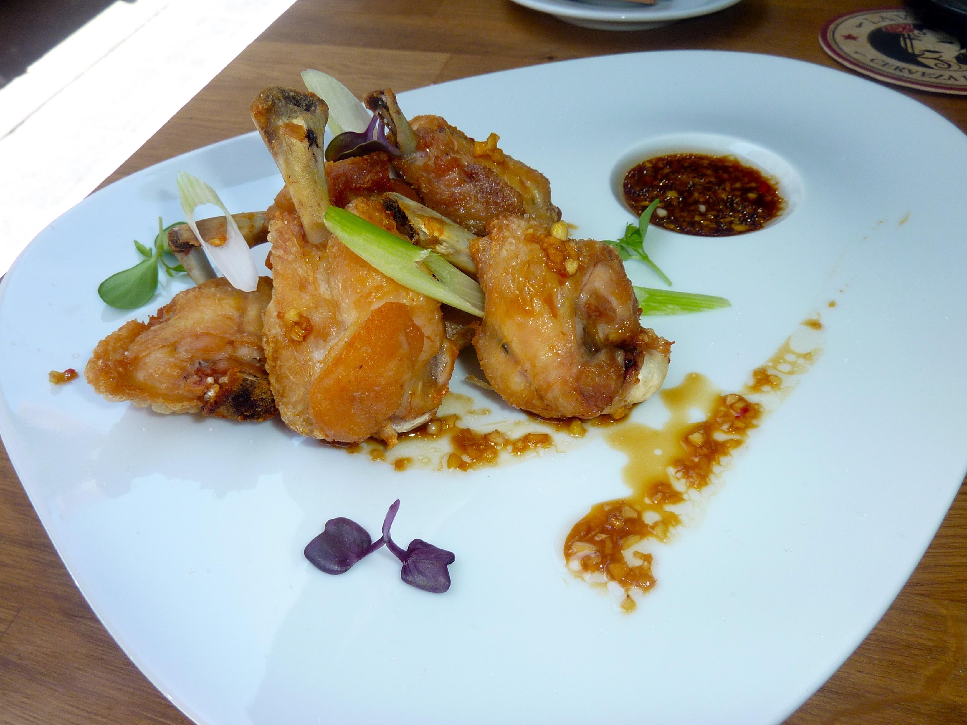 Los primeros platos de pollo momofuku con salsa octo - Platos con pechuga de pollo ...